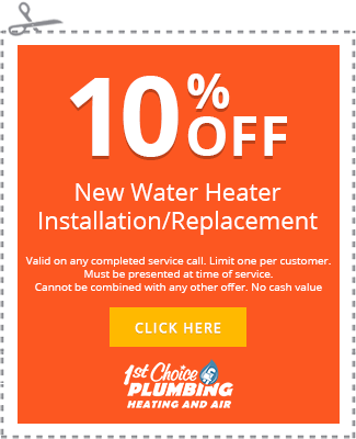 Specials 1st Choice Plumbing Heating Amp Air